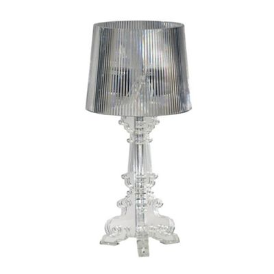 Buy nouveau riche clear acrylic table lamp small from our table nouveau riche clear acrylic table lamp small aloadofball Image collections