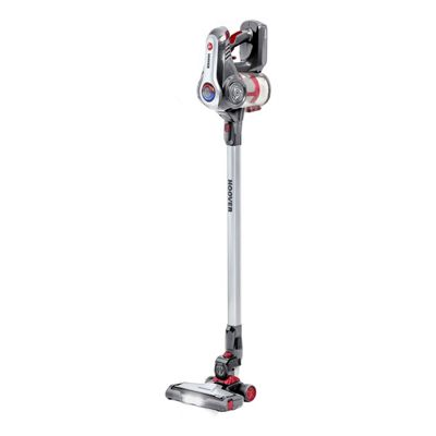 Hoover-DS22G Discovery Cordless Vacuum Cleaner with 0.7L Capacity in Titanium and Red