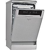 Whirlpool ADP502IX - 10 Place Slimline Dishwasher 8 Programs, Stainless Steel