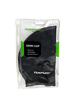 Tunturi Silicone Adult Swimming Cap - Black