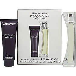 Elizabeth Arden Provocative Woman Gift Set 30ml EDP + 50ml Body Lotion For Women
