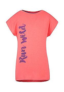 Mountain Warehouse RUN WILD GIRLS PRINTED TEE - Pink