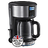 Russell Hobbs 20680 Buckingham Coffee Machine -  Black & Silver