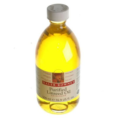 Dr 500ml Purified Linseed Oil