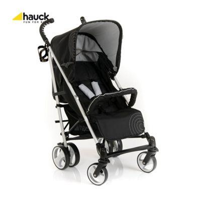 Hauck Spirit Stroller, Caviar/Silver