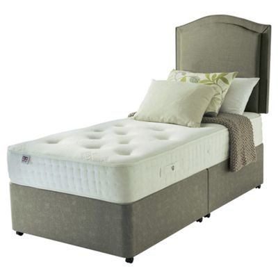 Rest Assured Single Divan Bed, Pocket 800 Memory, Non-Storage