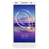 Tesco Mobile Alcatel U5 HD - White handset Black Moveband