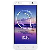Tesco Mobile Alcatel U5 HD - White handset Black Moveband