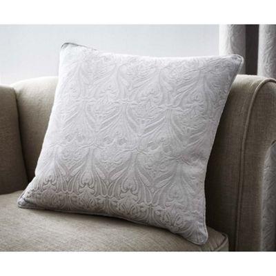Curtina Voysey Silver Cushion Cover - 43x43cm