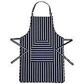 KitchenCraft Butcher's Striped Apron in Blue