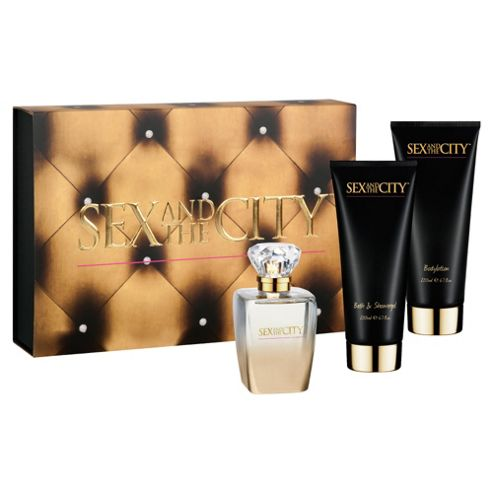 Sex And The City 100ml Gift Set Day 3 Pc Ladies