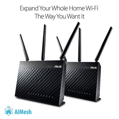 Asus AiMesh AC1900 WiFi System 2 Pack