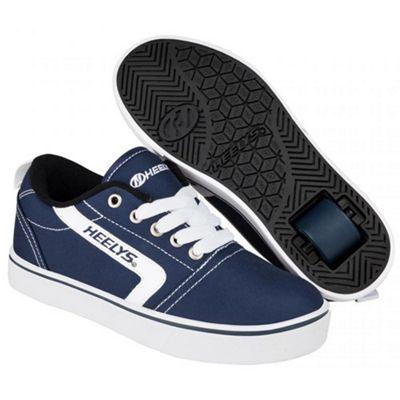 Heelys GR8 Pro Navy/White Kids Heely Shoe JNR 12