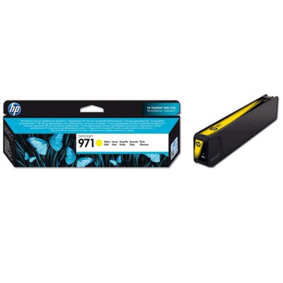 HP 971 Yellow Ink Cartridge (Yield 2500 Pages) for OfficeJet Pro X Series Printers