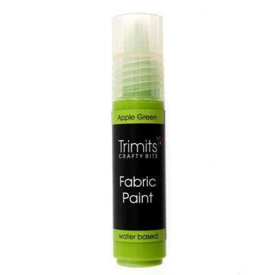 Trimits Fabric Paint Pen Apple Green 20ml