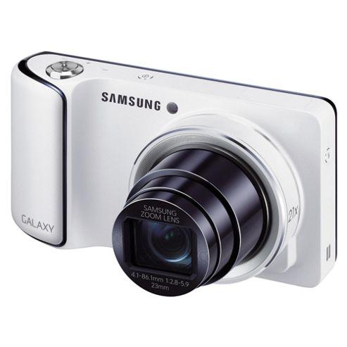 Samsung Galaxy Digital Camera, White, 16.3MP, 21x Optical Zoom, 4.8