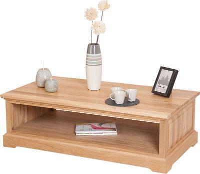 Aspen Solid Oak Coffee Table