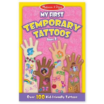 Melissa and Doug My First Temporary Tattoos Pink