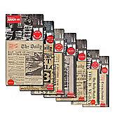 Collection of 7 Replica War Memorabilia Newspapers
