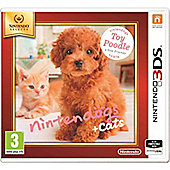 Nintendogs And Cats, Poodle + New Friends 3DS