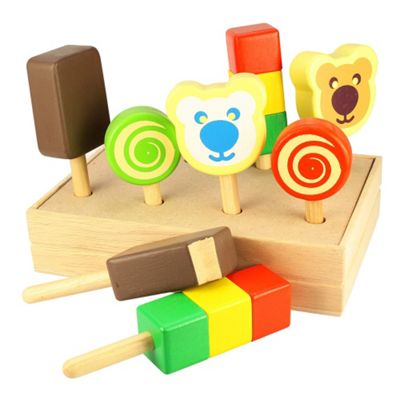 Santoys Ice Creams on Sticks (with Crate)
