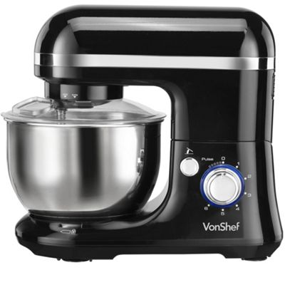 VonShef 650W Electric Food Stand Mixer