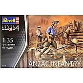 Revell 1:35 Model Kit ANZAC Infantry (1915)