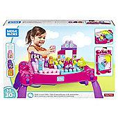 Mega Bloks First Builders Lil' Princess Play 'n Go Fairytale Table