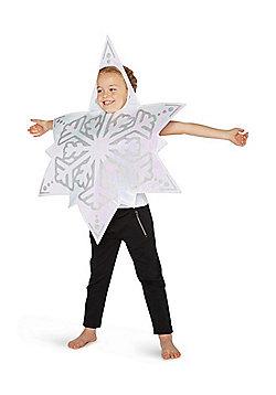 F&F Snowflake Christmas Costume - White