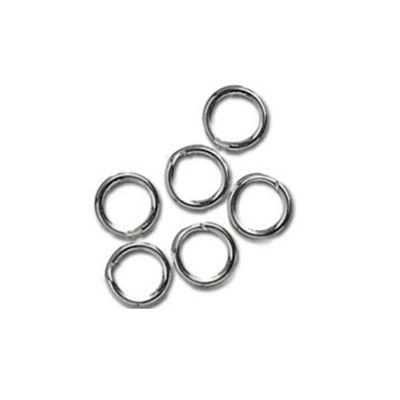 Impex Split Rings 5mm Silver 10pk