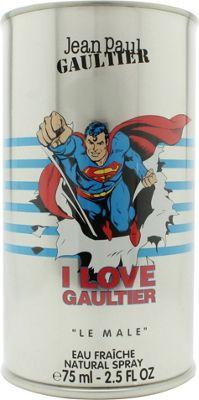Jean Paul Gaultier Le Male Eau Fraiche Eau de Toilette (EDT) 75ml Spray - Superman Edition For Men
