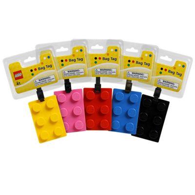 Lego - Brick Shape Bag Tag - RANDOM - West Design