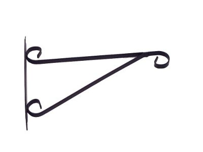 Element Hanging Basket Brackets Black 10in