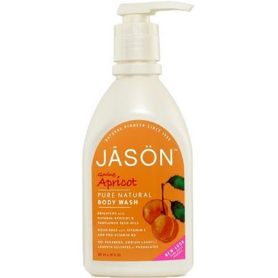 Apricot Satin Body Wash Pump
