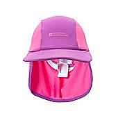 Legionnaire Kids Swim Quick Dry UV Protection Cap Sun Hat - Purple