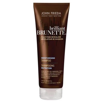 John Frieda Brilliant Brunette Moisturising Shampoo for All Brunettes Shades 250ml