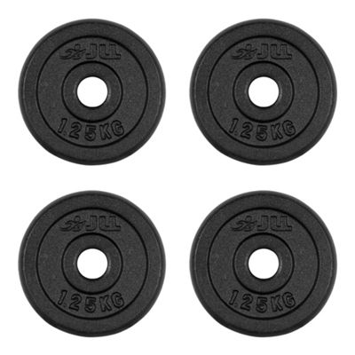 JLL Cast Iron Weight Plates - 4 x 1.25kg (5kg)