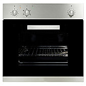 MyAppliances ART28702 60cm Built-in Fan Assisted Oven in Black / Stainless Steel