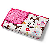 Baby Blanket- Woodland Animals