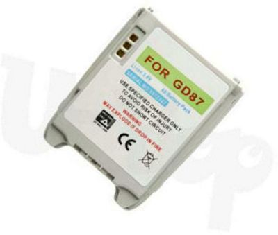 U-bop PowerSURE Performance Battery - For Panasonic Gd87
