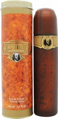 Cuba Gold Eau de Toilette (EDT) 100ml Spray For Men