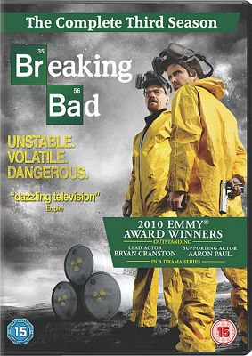 Breaking Bad - Series 3 - Complete (DVD Boxset)