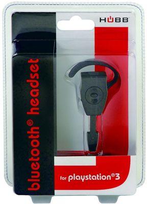 Hubb PS3 Bluetooth Headset - Black - PS3