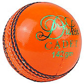 "Dukes Cadet ""A"" Cadet Match Cricket Balls Junior Orange 142g (4.75oz)"