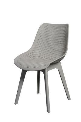 Set of 2 Aurora Grey Dining Chairs