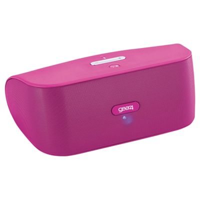 Gear4 StreetParty Wireless Bluetooth Speaker Pink