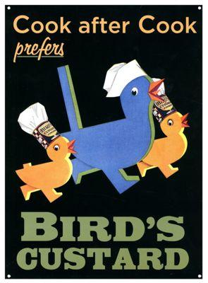 Bird's Custard The Preferred Custard Tin Sign