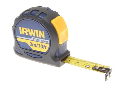 Irwin Professional Pocket Pocket Tape 3m/10ft (Width 16mm) Carded