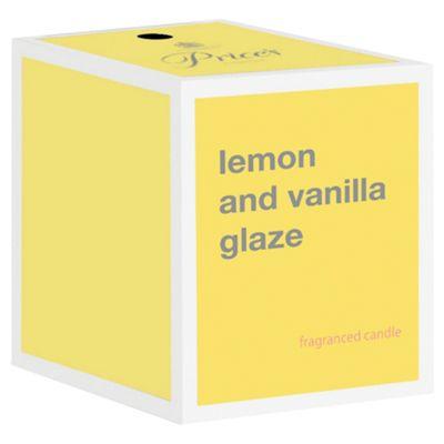Prices Candle Jar Lemon And Vanilla Glaze