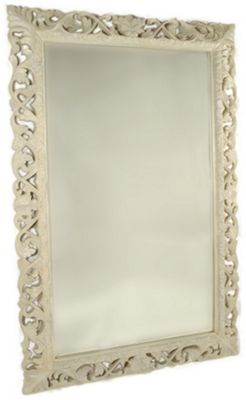 Papa Theo Signorina Extra Large Mirror - Antique White